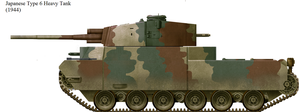 Test Build 3: Japanese Type 6 Heavy Tank by TinkerTanker44432