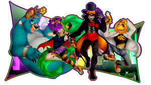 Villainous Halloween Wallpaper by Atomic52