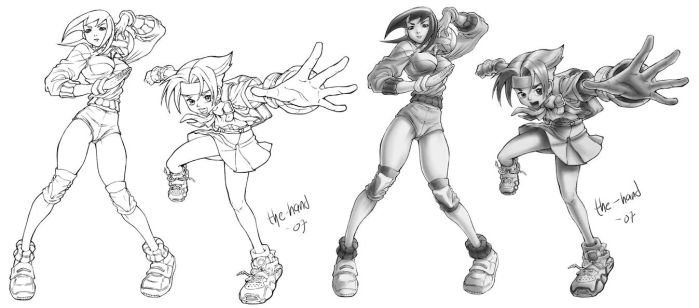 Rival School sketches by The-Hand