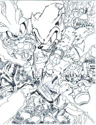 Sonic Universe Triple Threat cover 3 by trunks24