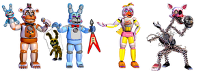 Funtime Toy Animatronics [PART 1] by TheGoldenGamer90010