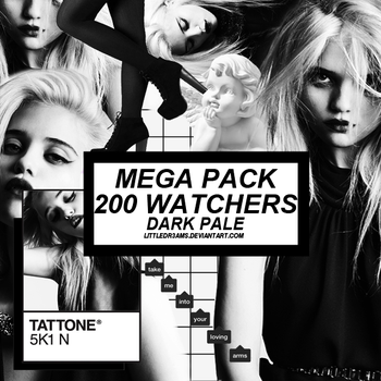 DARK PALE MEGA PACK 200 WATCHERS by LittleDr3ams