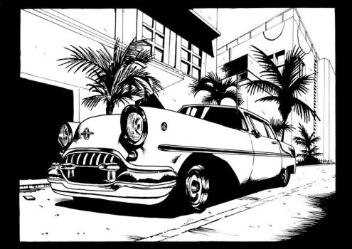 Miami Car by vittoriogarofoli83
