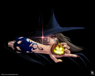Halloween Witch by transfuse
