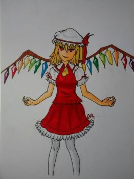 Flandre from Touhou project by Kohlgates