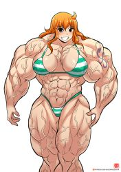 Nami's Been Working Out...A lot by InterstellarrSpace