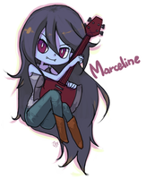 Adventure time, Marceline by yhe306