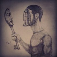 Self surreal portrait by Madooz3