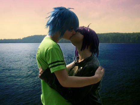 2D x Noodle Cosplay - Phase 3 by krazorspoon