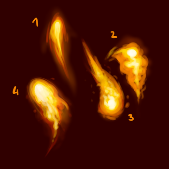 learning to draw fire with tutorials by DLN-00M