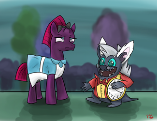 MLP: Tempest in Wonderland by PacificGreen