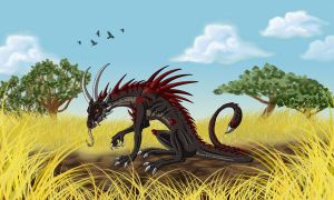 African Cragback by Psydrache