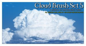 Cloud Brush Set 5 by s3vendays