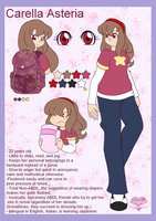 Comm: Carella Mini Ref by AD-SD-ChibiGirl