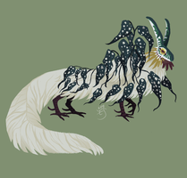 (CLOSED) Begonia Dragon 2 by The-Monster-Shop