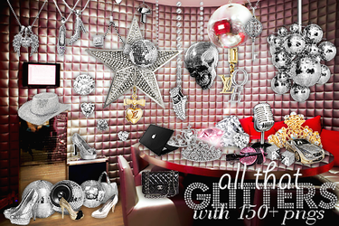 All that glitters png pack 150+ by iamszissz