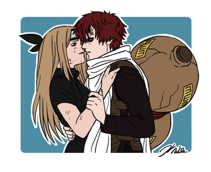 Gaara and Ai by Zerohope2survive