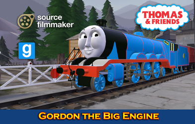 [SFM/Gmod Model] Gordon the Big Engine by YanPictures