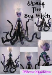 Ursula the Sea Witch by DeepDarkCreations