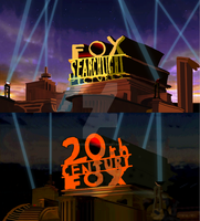 Fox Logos 1990's Swap (Not Copyrighted Content) by SuperBaster2015