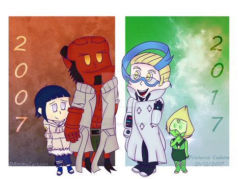 10 Years Of Crossovers by AnimeCartoon