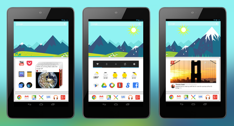 Google Now - Mountain Wallpaper Pack by Cornmanthe3rd