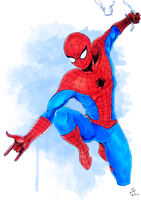 Spider Man Classic Costume by aquaticpig