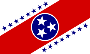 Alternate US Flags: Tennessee by rubberduck3y6