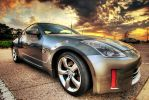 HDR of my My Z by cavez