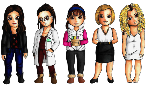 Chibi time: Clone club by lordbatsy
