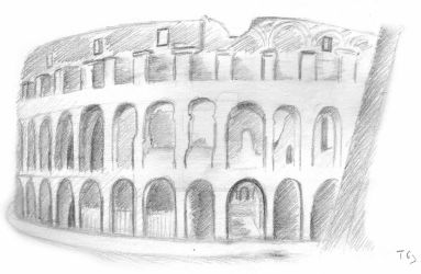 colisee de Rome by LEZARD-GRAPHIQUE