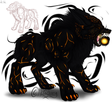 Fire Colossus - OC Adoptable! - OPEN - by McCadbury