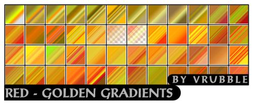 Red-golden gradients. by SmediaDesign
