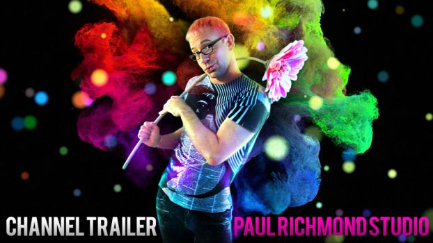 Paul Richmond Studio Channel Trailer by paulypants
