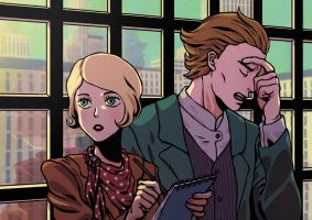 Maggie and Alan by Sourya