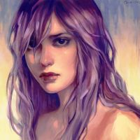 Purple by Camille-Marie