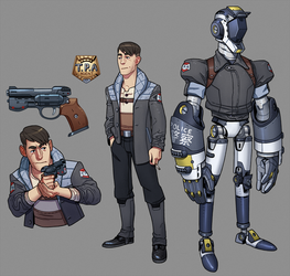 TPA Agents Character Sheet by thdark