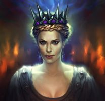 The Evil Queen by fekb