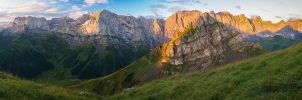 Karwendel sunrise by acoresjo88
