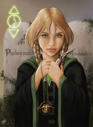 Lady Elyon heir of Slytherin by andre-ma