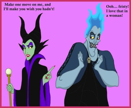 Hades meets Malefiz by HercHaven