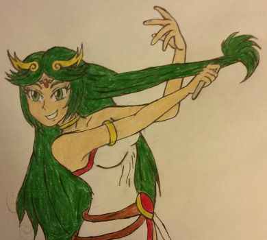 Palutena: Fork comb by dcb2art