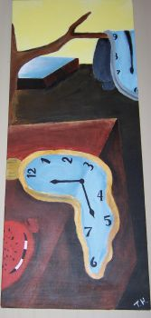 melting clocks by TheholyPope