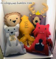 Game of Thrones Sigil Plush Preview by Cristophine