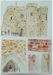 Rye watercolours by teacupboats