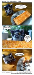 Melvin and the Carrot Cake by Prickblad
