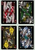 Playing cards 'Animagique'. Jacks by Inshader