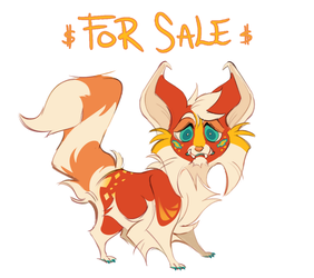 character FOR SALE OPEN by miraclespout