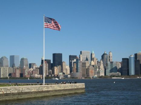 Ellis Island and NYC by MrGone2001