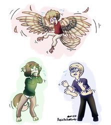 aph: monstertalia - OH GOD THIS WAS A BAD IDEA by Rose-McSugar